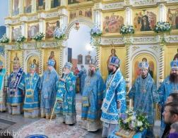 Патриарший Экзарх возглавил торжества в честь Сукневичской иконы Божией Матери