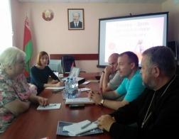 Клирик Минской епархии принял участие в круглом столе на тему профилактики алкогольной зависимости населения Минского района