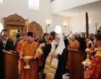 Святейший Патриарх Кирилл освятил храм в честь преподобномученицы Елисаветы в Елисаветинском монастыре в Алапаевске