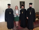 Представители Православных Церквей при Европейском Союзе встретились с министром иностранных дел Австрии