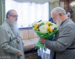 Митрополит Филарет поздравил митрополита Павла с днем Ангела
