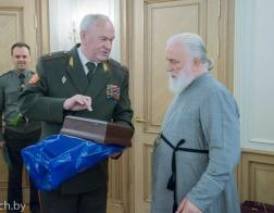 Главы и представители силовых ведомств Беларуси поздравили Патриаршего Экзарха с днем тезоименитства
