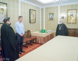 Митрополит Павел принял поздравления с днем тезоименитства от сотрудников Минской Экзархии и Минского епархиального управления