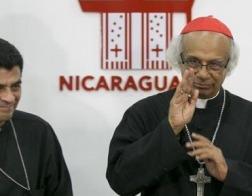 В Никарагуа от действий силовиков пострадали кардинал, архиепископ и епископ