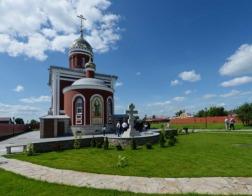 Патриарх Кирилл освятил храмы у мест мученичества Елизаветы Федоровны