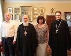 Председатель Издательского Совета провел встречу с руководителем Российской книжной палаты