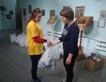 В Забайкалье Церковь выдает продуктовые и хозяйственные наборы пострадавшим от паводка