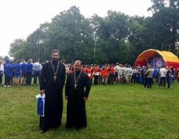 Представитель БПЦ принял участие в открытии IV Евразийского скаутского Джамбори