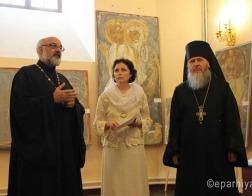 В Витебске состоялось торжественное открытие выставки «Образ, традиция и время»