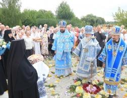 В Барколабовском монастыре Бобруйской епархии состоялись торжества в честь Барколабовской иконы Божией Матери