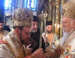 Патриарх Варфоломей возглавил хиротонию нового митрополита Швейцарского Максима (Пофоса)