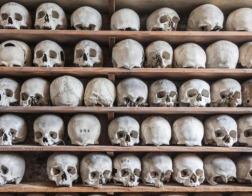 В Британии неизвестные преступники украли более 20 человеческих черепов из церковного склепа-оссуария