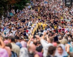 В Киеве прошел рекордный Крестный ход – участие в нем приняли 250 тысяч верующих