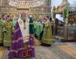 Председатель Синодального отдела по монастырям и монашеству возглавил в Стефано-Махрищском монастыре празднование дня памяти основателя обители