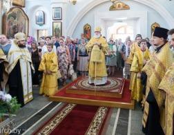 Накануне Недели 9-й по Пятидесятнице митрополит Павел совершил всенощное бдение в Свято-Духовом кафедральном соборе города Минска