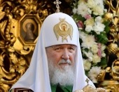 В день памяти святых апостолов Петра и Павла Святейший Патриарх Кирилл совершил Литургию в Петропавловском храме в Лефортове г. Москвы