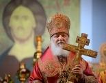 В сотую годовщину расстрела Царской семьи Предстоятель Русской Церкви совершил Литургию на площади перед Храмом на Крови в Екатеринбурге