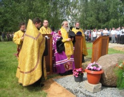 В Новополоцке состоялась закладка духовно-просветительского центра с храмом в честь Архангела Михаила