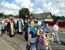 Чтимая копия Жировичской иконы Божией Матери посетила города Гродненской епархии