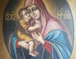 В музей Минской духовной семинарии передан уникальный список Жировичской иконы Божией Матери