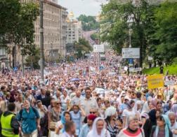 Всеукраинский крестный ход помог верующим победить страх – УПЦ