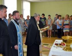 Епископ Туровский Леонид освятил детский сад в Мозыре