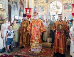 В день памяти равноапостольной Марии Магдалины митрополит Павел совершил Литургию в Марии-Магдалининском храме города Минска