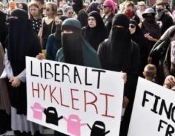 В Дании впервые оштрафовали мусульманку за ношение никаба в общественном месте