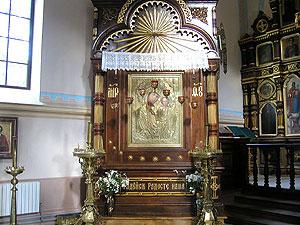 чудотворная икона «Казанской Божьей Матери»