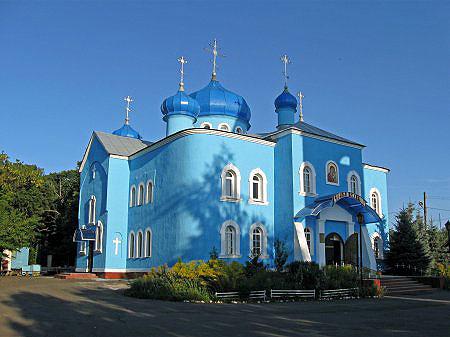 аг. Мичуринская. Храм Казанской иконы Божией Матери